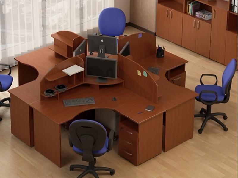 Комплект офисных столов АТРИБУТ-k5