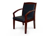 Кресло Лорд дерево/кожа