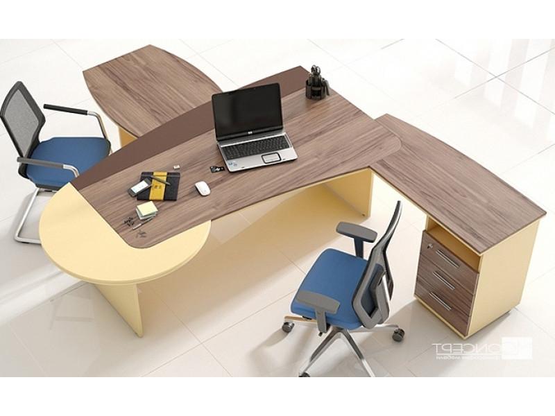 Офисный стол руководителя ФЛЕШ-1