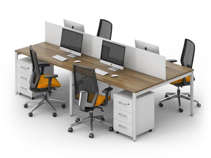 Офисный стол на 4 LOFT-k11