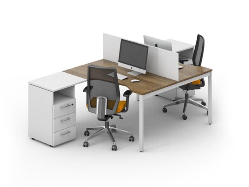 Офисный стол на 2 человека LOFT-k5