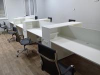 Офисный стол на 8 человек LOFT