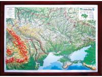 Настенная 3D карта УКРАИНА