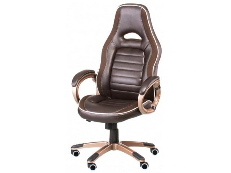 Кресло руководителя Aries коричневый
