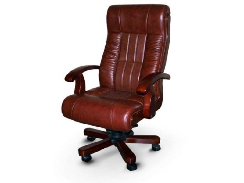 Кресло руководителя Мурано вишневый