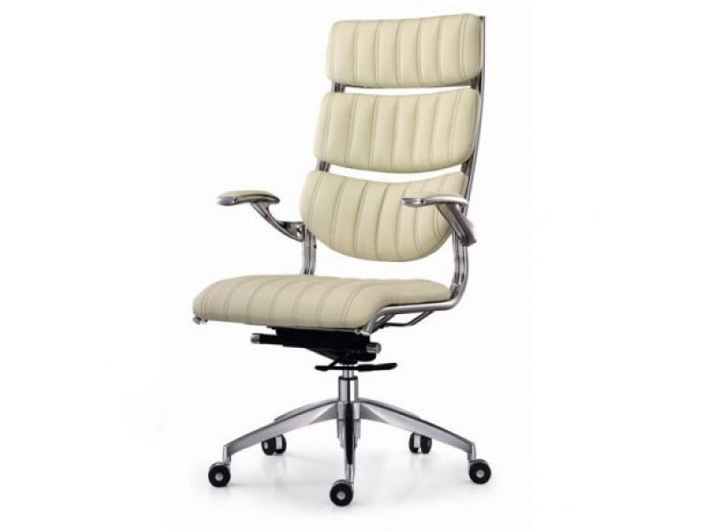 Кресло руководителя Органик бежевый