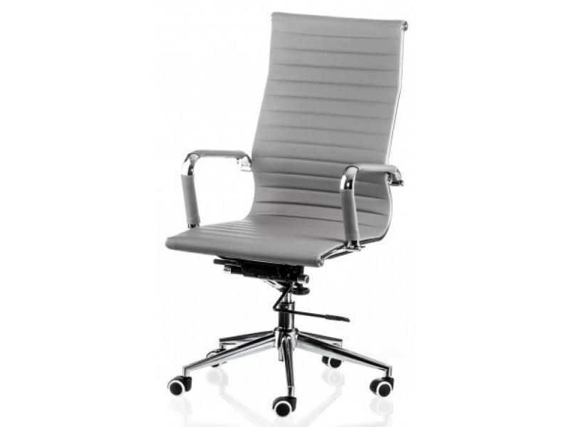 Кресло руководителя Solano серый
