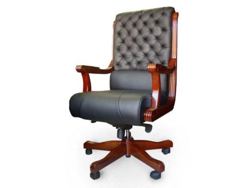 Кресло руководителя Сорренто черный