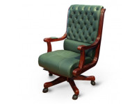 Кресло руководителя Сорренто зеленый