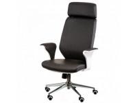 Кресло руководителя Wind черно-белое