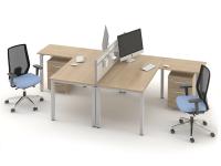Комплект офисных столов ОЗОН-k2