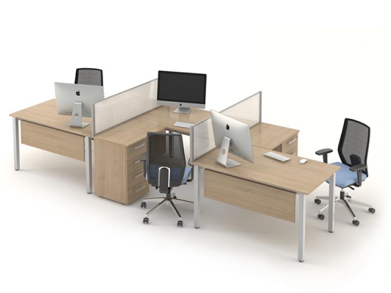 Комплект офісних столів ОЗОН-k3