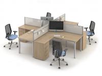 Комплект офисных столов ОЗОН-k5