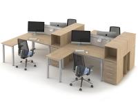 Комплект офисных столов ОЗОН-k7