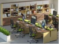 6 офисных столов ПРАЙМ-k2