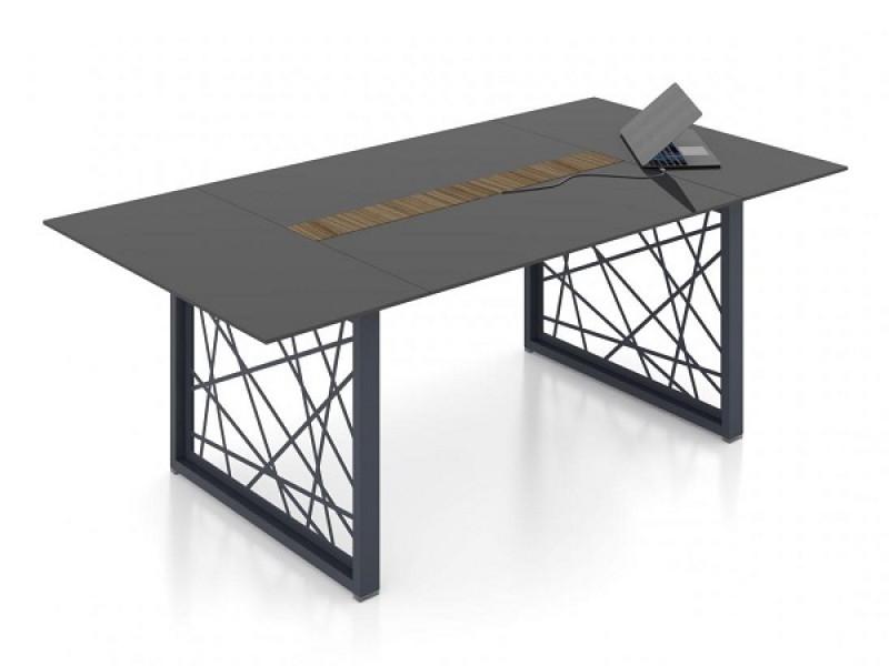 Конференц стол РАЙЗ стекло
