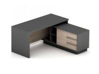 Офисный стол с тумбой Промо