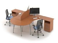 2 офисных стола ТЕХНО