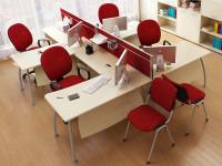 4 офисных стола ТЕХНО
