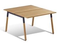 Компьютерный стол двойной Wood