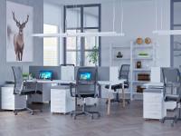 Офисные стеллажи ЛОФТ Wood L1650