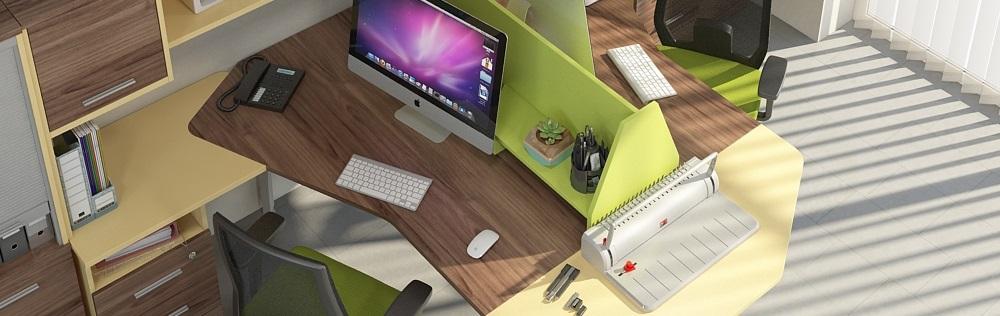 Как подобрать цвет мебели в офис