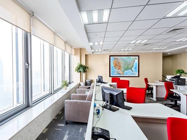 Объемная панорамная настенная карта в офис