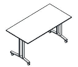 Мобильные складные офисные столы-трансформеры 1600