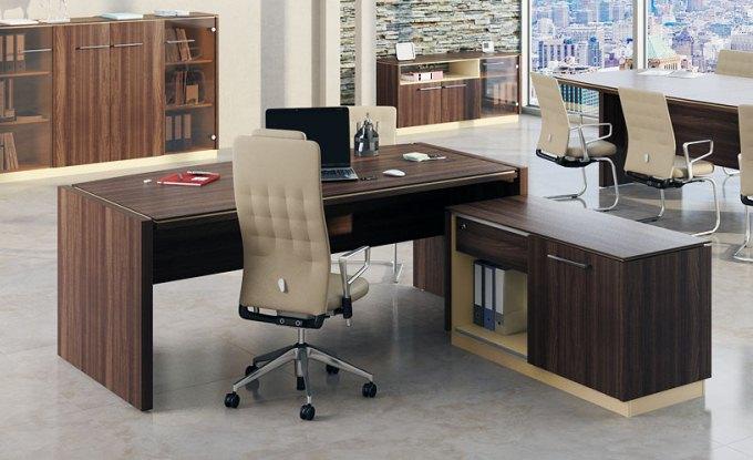 Современный стол для руководителя Рэй аида