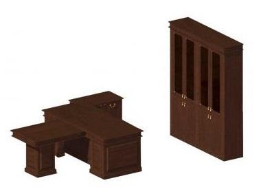 Мебель руководителя Классика набор с приставным столом