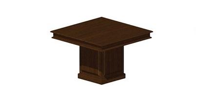 Квадратный конференц стол Классика на 4 чел