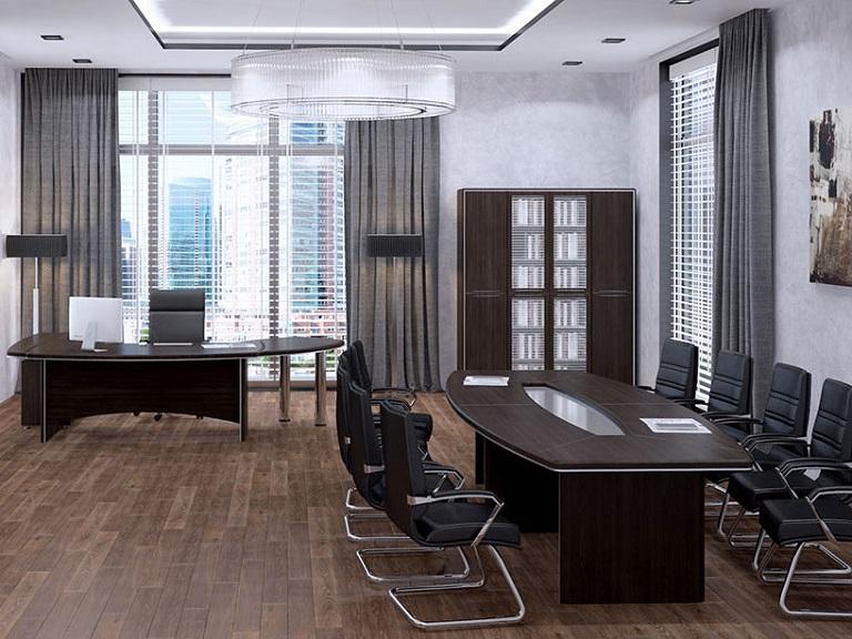 Купить мебель руководителя Альянс МДФ венге