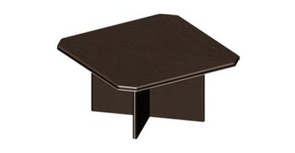Квадратный стол переговоров МДФ размеры 1500х1500